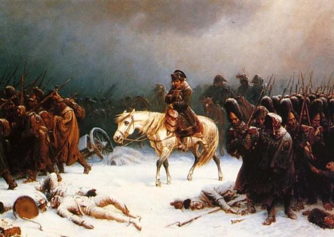 001 2-Napoleons-terugtrekking-uit-Moskou-Adolphe-Northen-1812