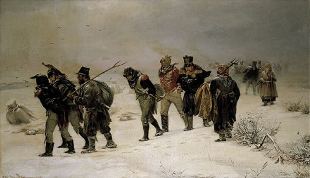 001 De-dramatische-terugtocht-Illarion-Prjanisjnikov-1812