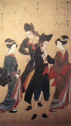 003 Dutchmen_with_Courtesans_Nagasaki_c1800